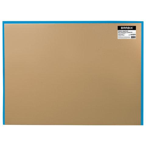 Коврик защитный для напольных покрытий, поликарбонат, диаметр 100 см, глянец, толщина 1 мм