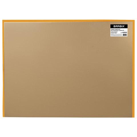Коврик защитный для напольных покрытий, поликарбонат, 90х120 см, глянец, толщина 1 мм