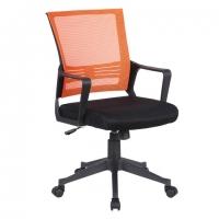 """Кресло """"Balance MG-320"""", с подлокотниками, комбинированное черное/оранжевое"""