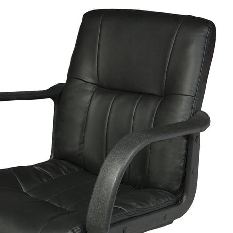 """Кресло """"Hit MG-300"""", с подлокотниками, экокожа, черное"""