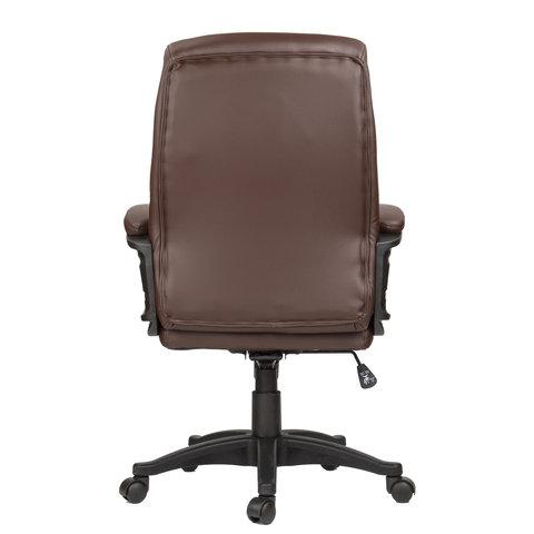 """Кресло офисное """"Enter EX-511"""", экокожа, коричневое"""
