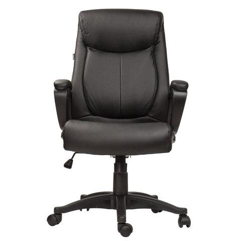 """Кресло офисное """"Enter EX-511"""", экокожа, черное"""