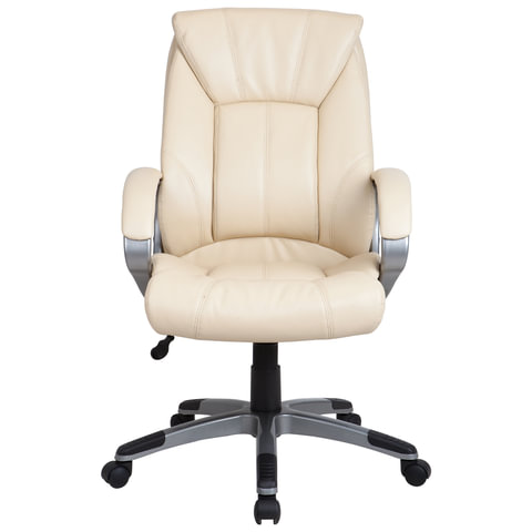 "Кресло офисное ""Maestro EX-506"", экокожа, бежевое"