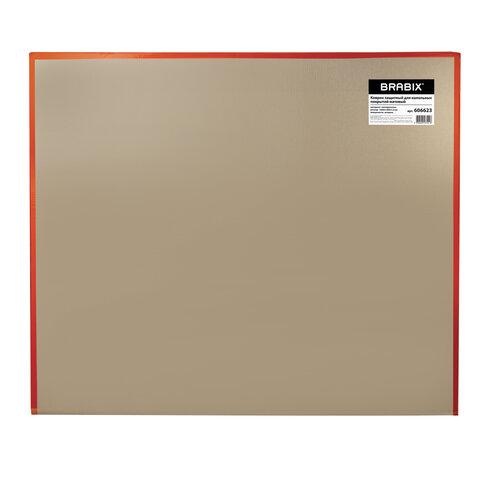 Коврик защитный для напольных покрытий, полипропилен, 100х120 см, матовый, толщина 1,2 мм