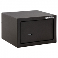 "Сейф мебельный ""SF-170KL"", 170х260х230 мм, ключевой замок, черный, S103BR210514"