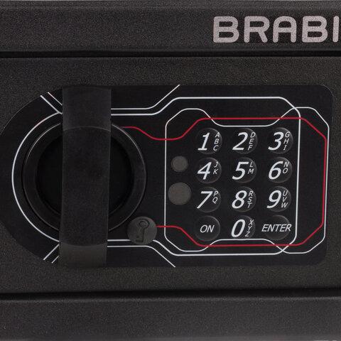 """Сейф мебельный """"SF-140EL"""", 140х195х140 мм, электронный замок, черный, S103BR210214"""