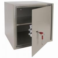 """Сейф мебельный """"D-40m"""", 400х400х366 мм, 13 кг, ключевой замок, крепление к стене"""
