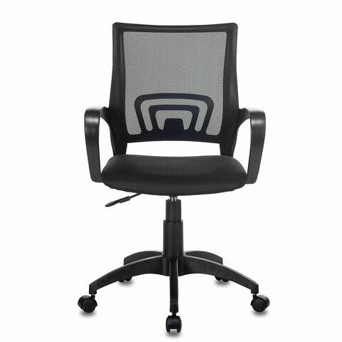"""Кресло """"Fly MG-396"""", с подлокотниками, сетка, черное"""