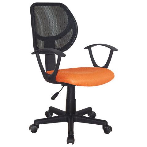 """Кресло компактное """"Flip MG-305"""", ткань TW, оранжевое/черное"""