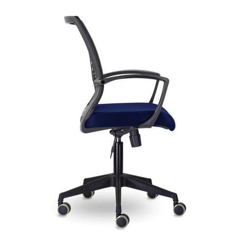 """Кресло """"Wings MG-309"""", пластик черный, сетка, черное/синее"""
