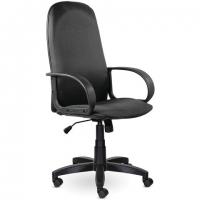 """Кресло офисное """"Praktik EX-279"""", ткань JP/кожзам, серое"""