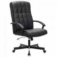"""Кресло офисное """"Quadro EX-524"""", экокожа, черное"""