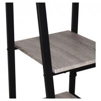"Стол на металлокаркасе ""LOFT CD-006"", 1200х500х730 мм, 2 полки, цвет дуб антик"