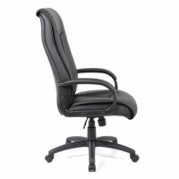 """Кресло офисное PREMIUM """"Work EX-513"""", экокожа, черное"""
