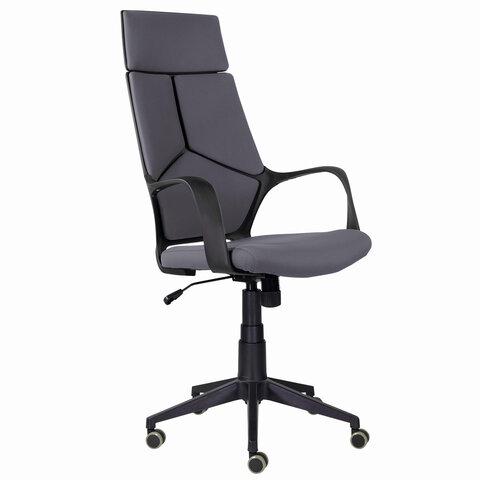 """Кресло офисное PREMIUM """"Prime EX-515"""", ткань, серое"""
